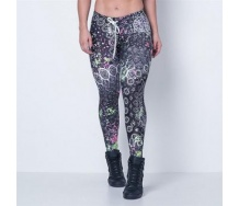 Fitness Surfer Mandala Legging