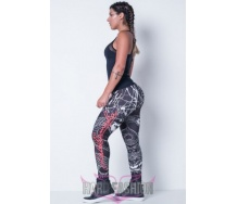 Fitness Printed Snake Legging