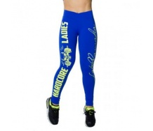 Legging Hardcoreladies blue